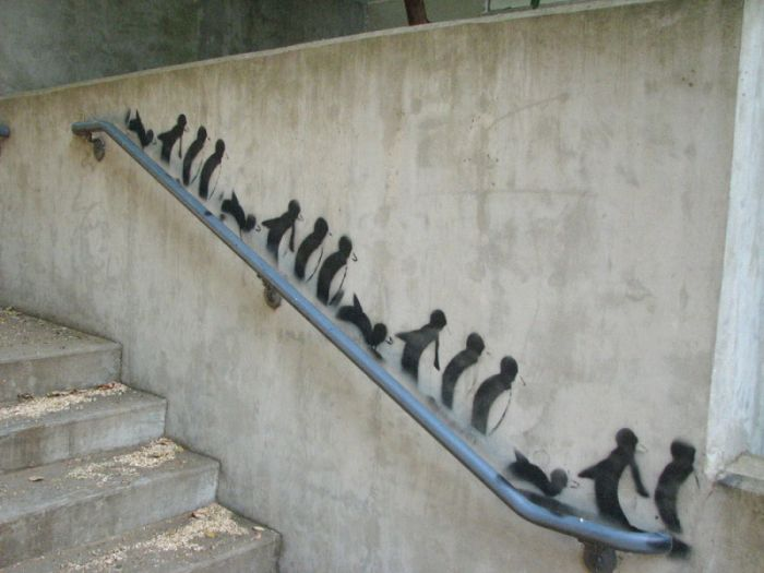 Street-Art-Penguins
