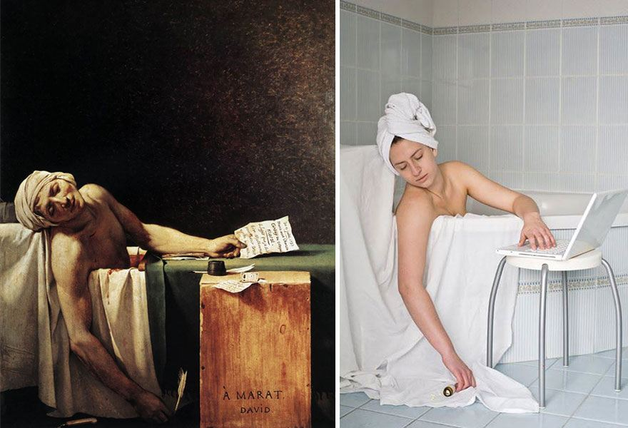 modern-photo-remakes-famous-paintings-25