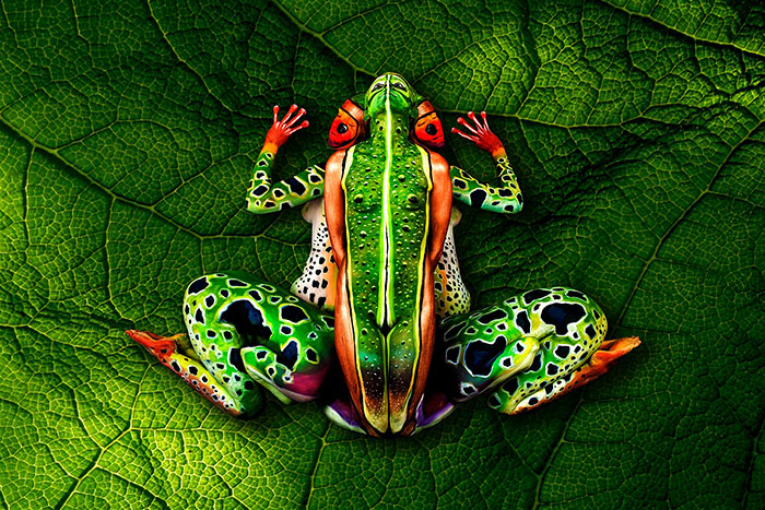 Stunning Examples Of Animal Body Art Artfido