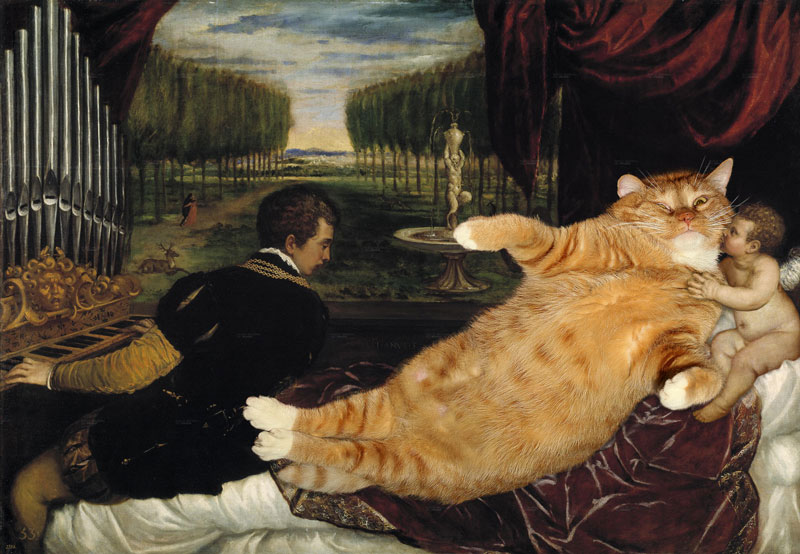 fat-cat-photoshopped-into-famous-artworks-9