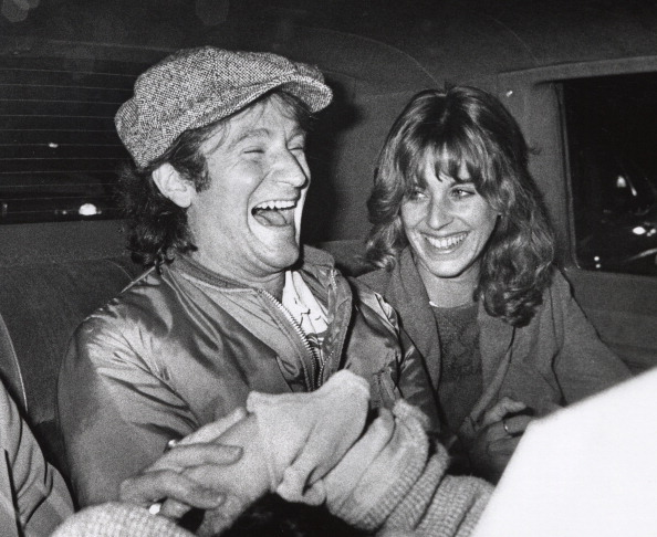 "Robin Williams After ""Saturday Night Live"" Taping in New York City - November 11, 1978"