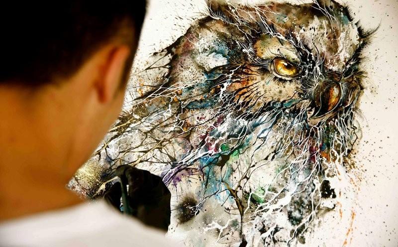 splatter-ink-animal-portraits-by-hua-tunan-1