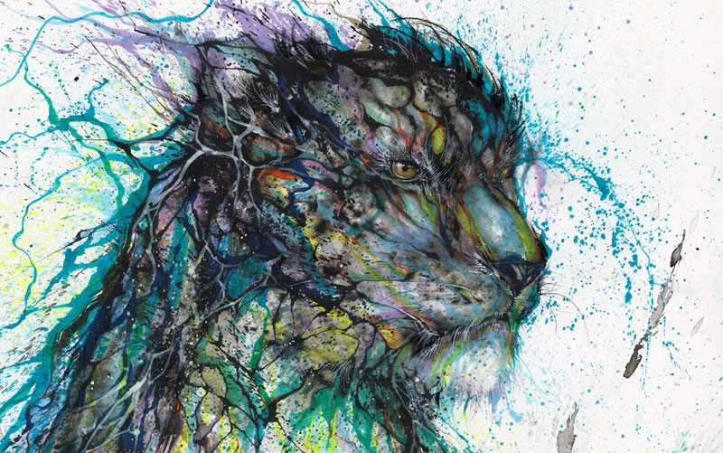 splatter-ink-animal-portraits-by-hua-tunan-10