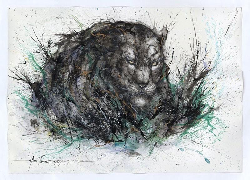 splatter-ink-animal-portraits-by-hua-tunan-4
