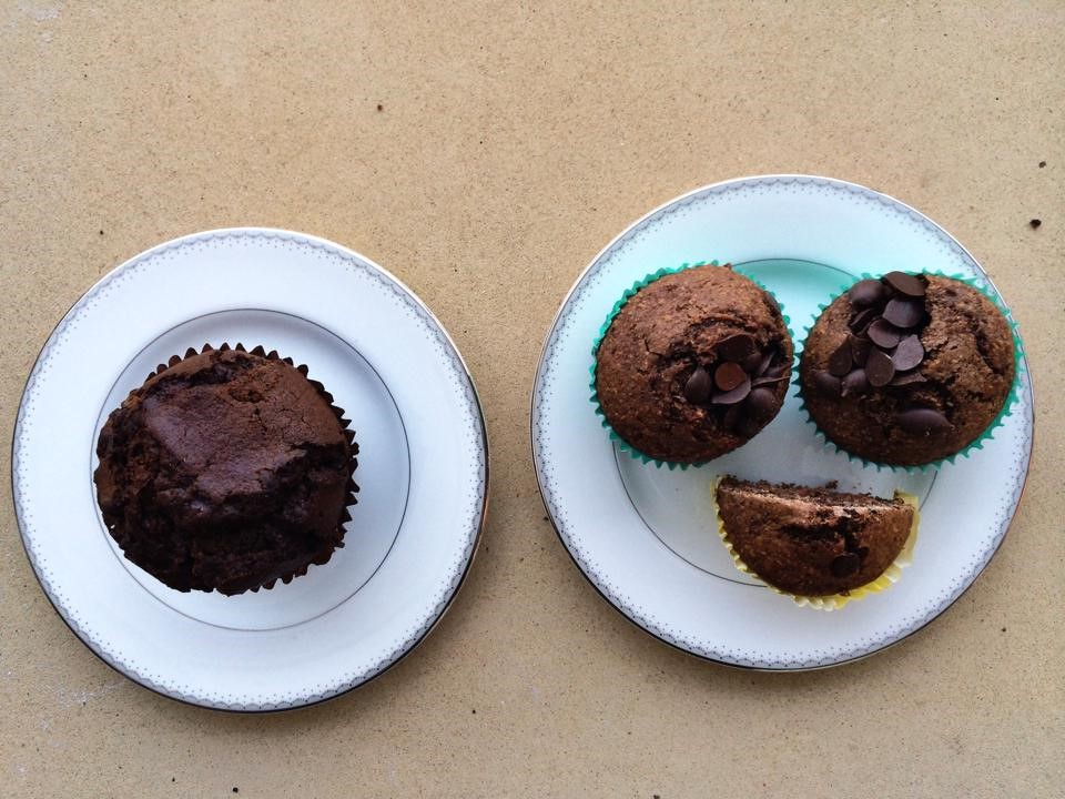 05 Double chocolate muffins