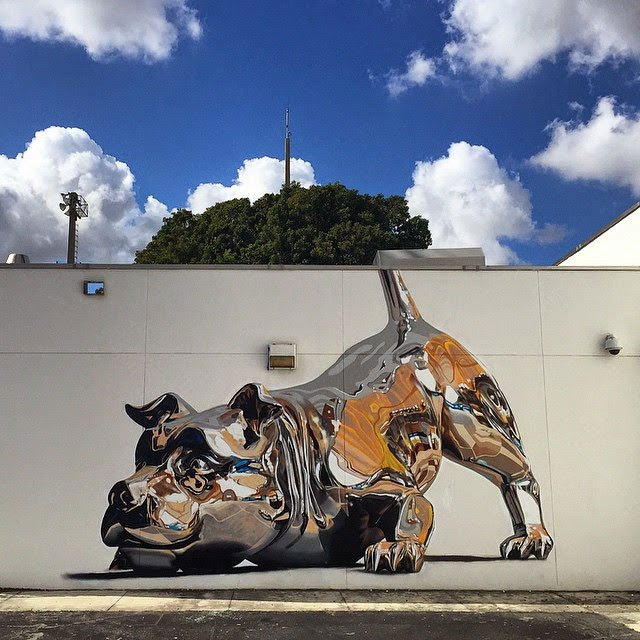 chrome-dog-mural-by-bikismo-art-basel-miami-2014-4