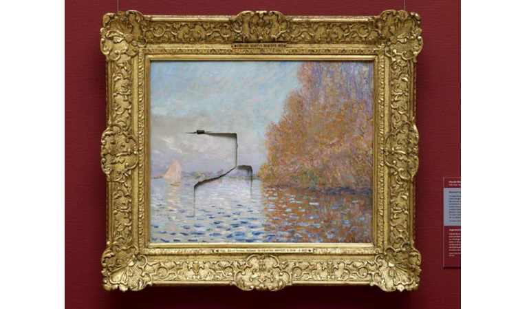 Monet punched