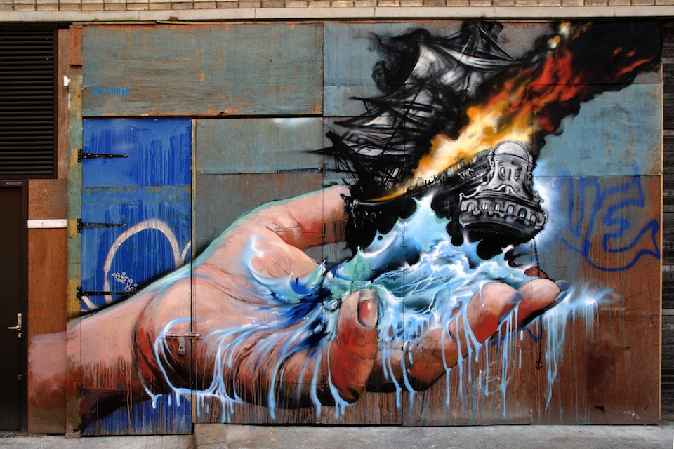 Graffiti-by-Jim-Vision-in-New-York-USA