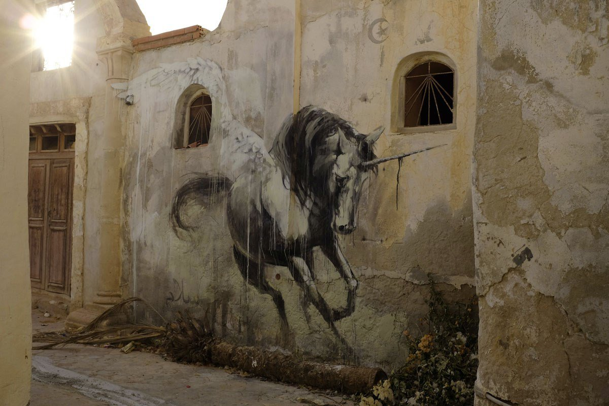 Hunt-Her-Street-Art-by-Faith47-in-Tunisia