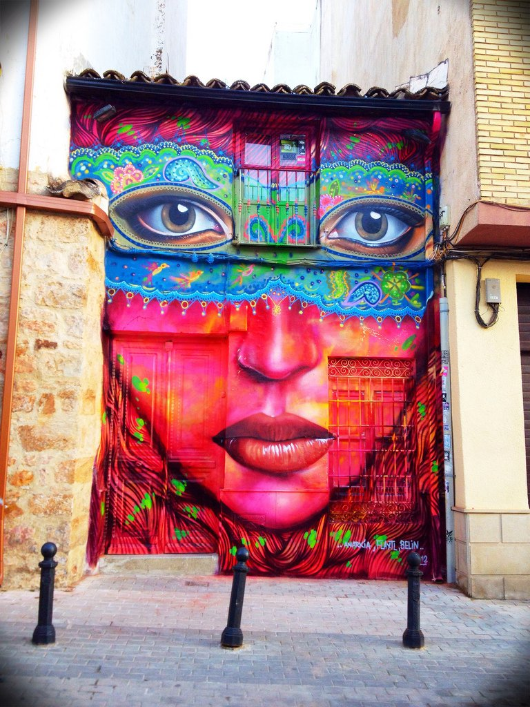 Street-Art-by-Anarkia-Flantl-and-Belin-in-Linares-Spain