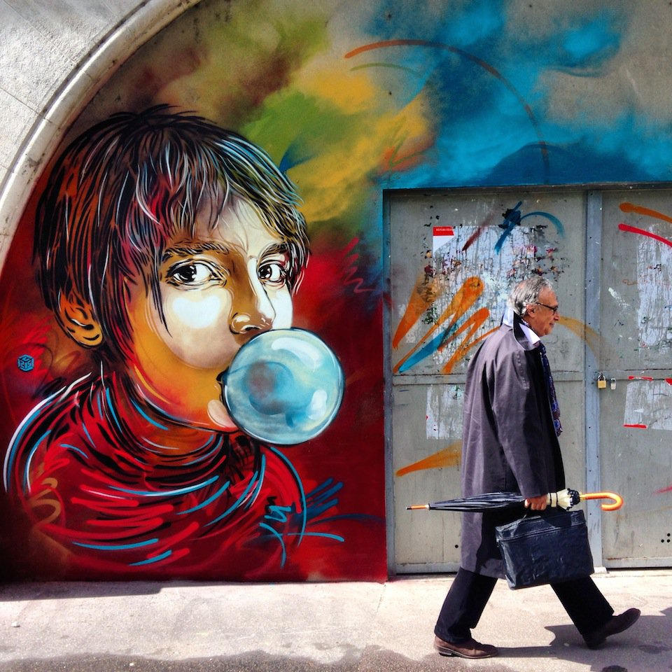 Street-Art-by-C214-in-Paris-France