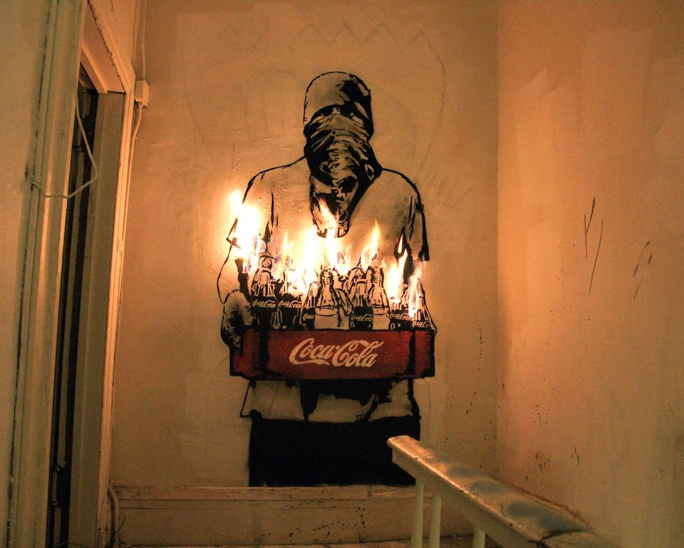 Street-Art-by-Icy-and-Sot-in-Lower-east-side-New-York-USA-Coca-Cola-Mo
