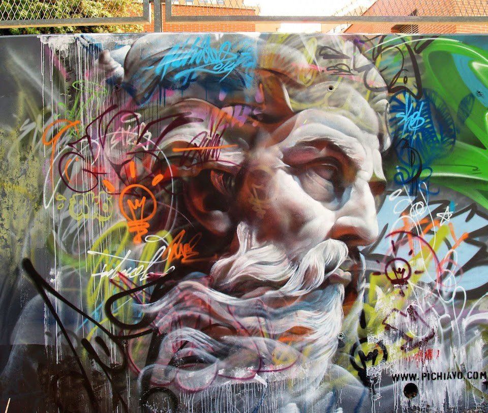 Street-Art-by-Pichi-and-Avo-from-Mislatas-representan-2014-in-Valencia