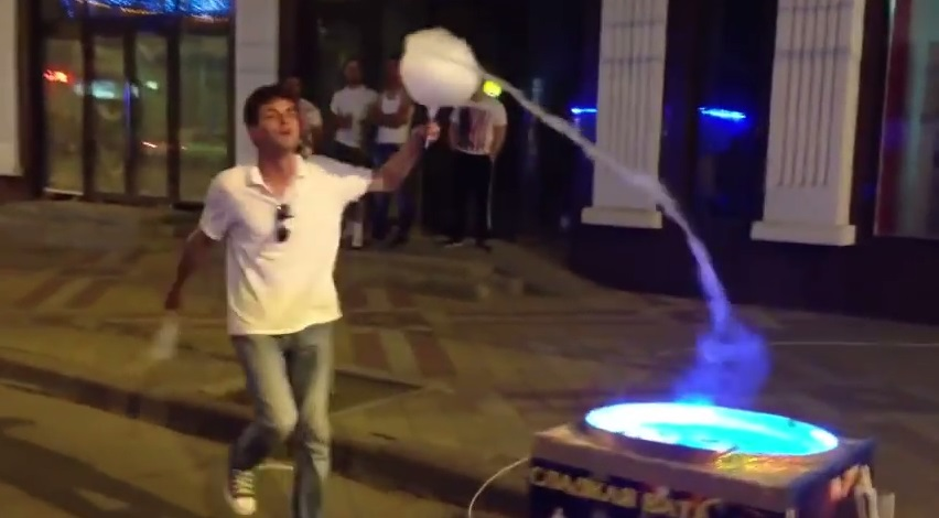 The Dancing Candy Floss Man