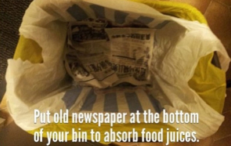 newspaper-life-hack