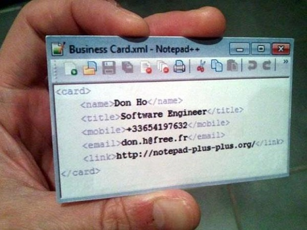programmer-business-card