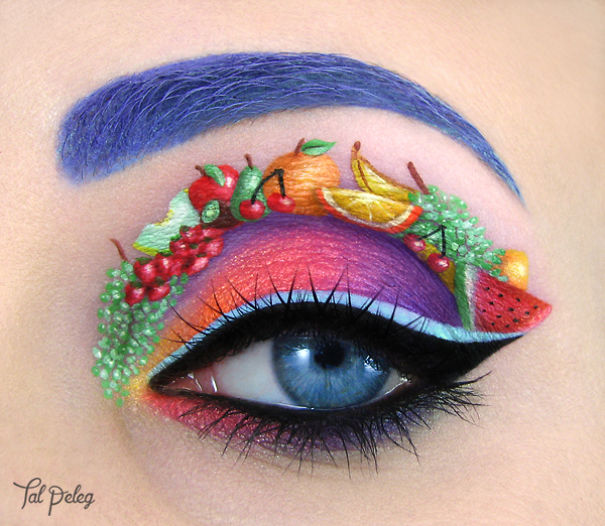 Tal Peleg is Back With More Extraordinary Eye Makeup Creations!