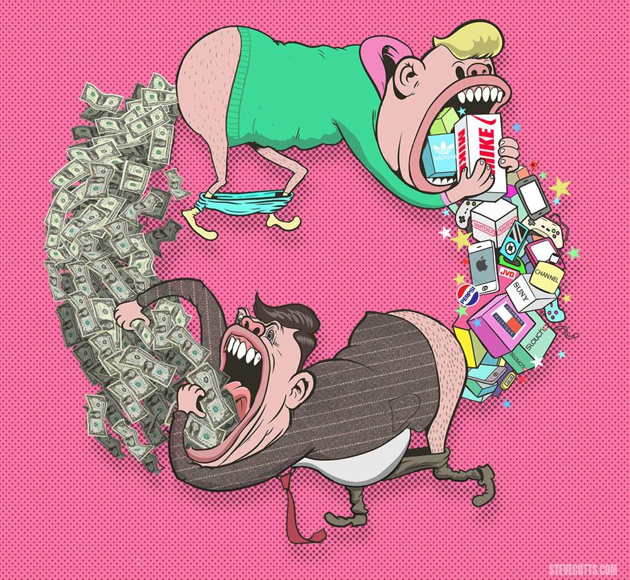 modern-life-horrors-problems-illustrations-steve-cutts-4