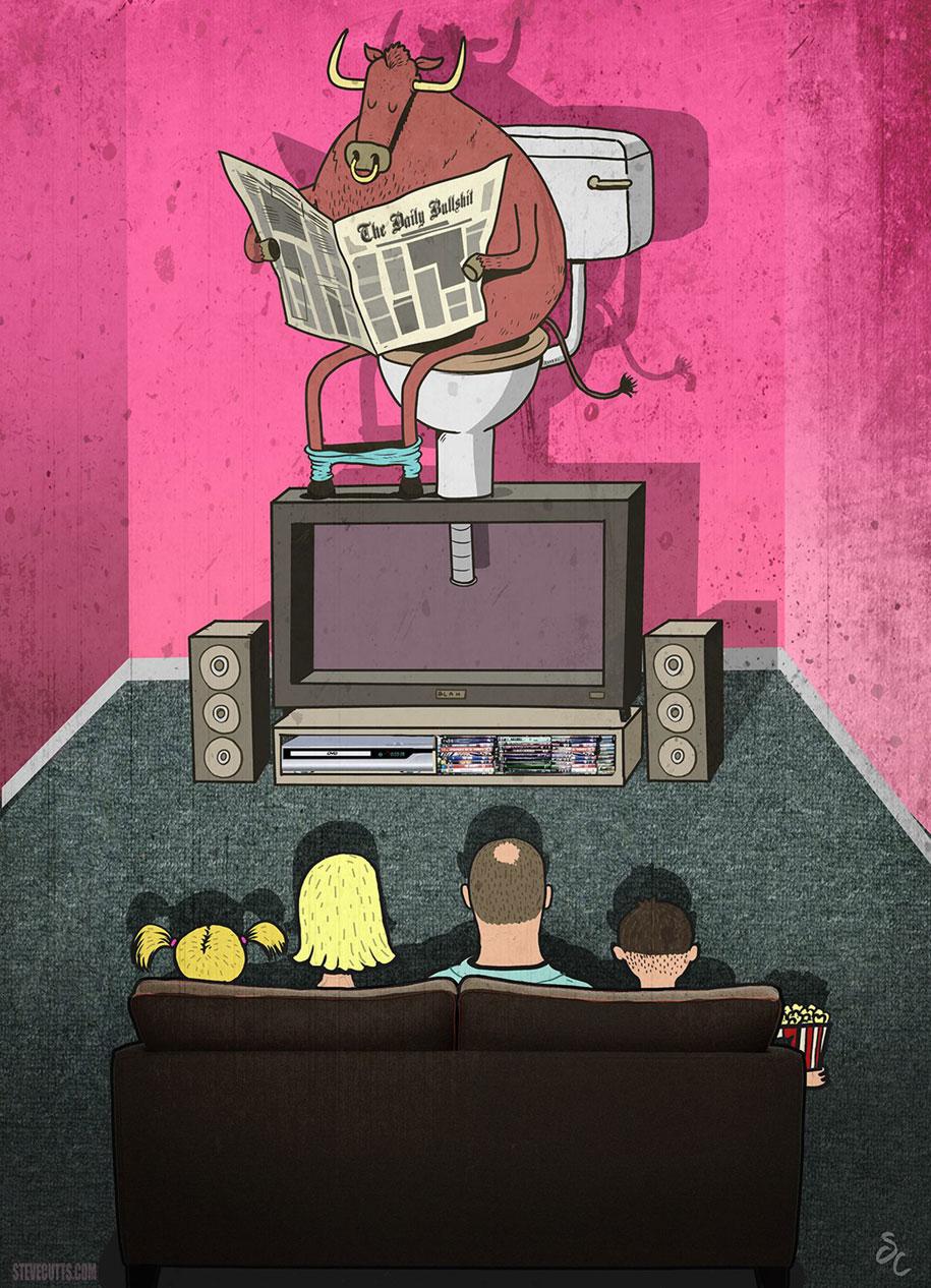 modern-life-horrors-problems-illustrations-steve-cutts-5