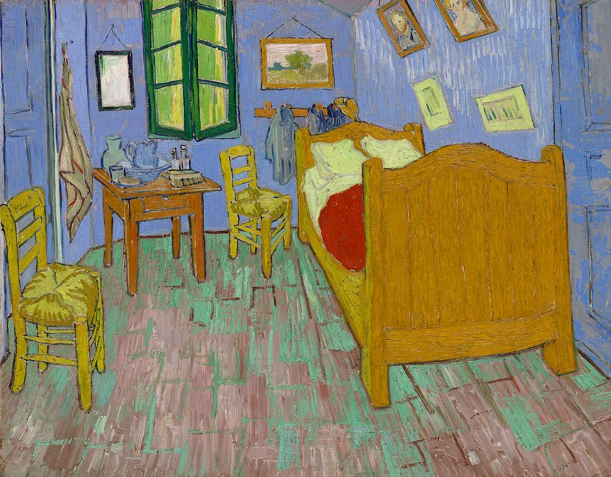van-gogh-room-airbnb-art-institute-chicago-5