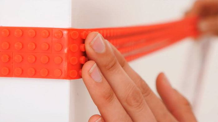 LEGO Tape Lets You Turn Anything Into A Lego Surface!