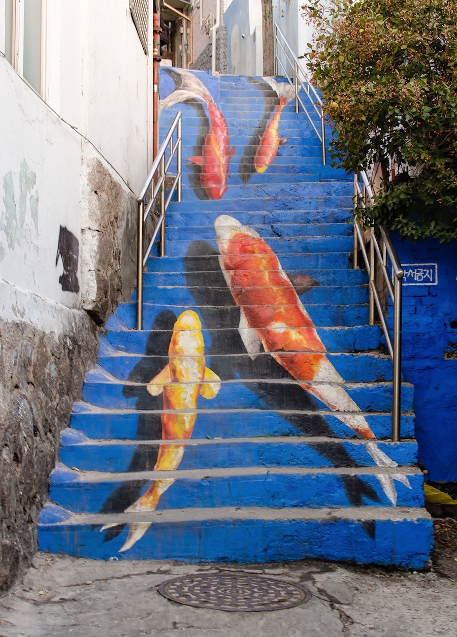 stair-art-kevin-lowry-seoul-south-korea