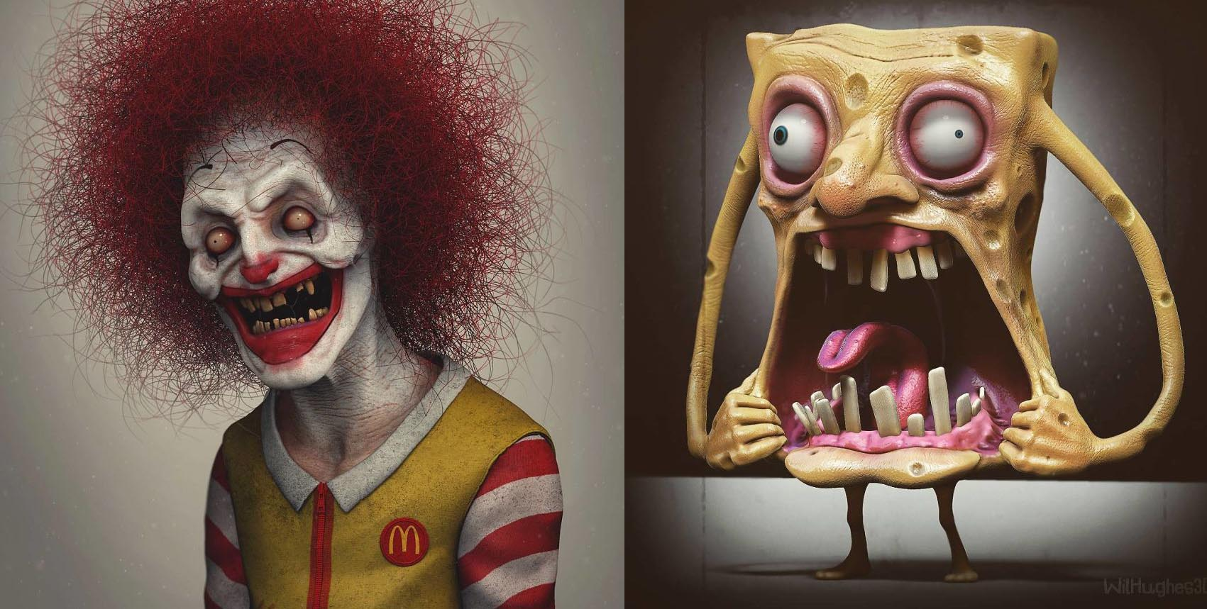 Artist Reimagines What Pop Culture Icons Would Look In Real Life