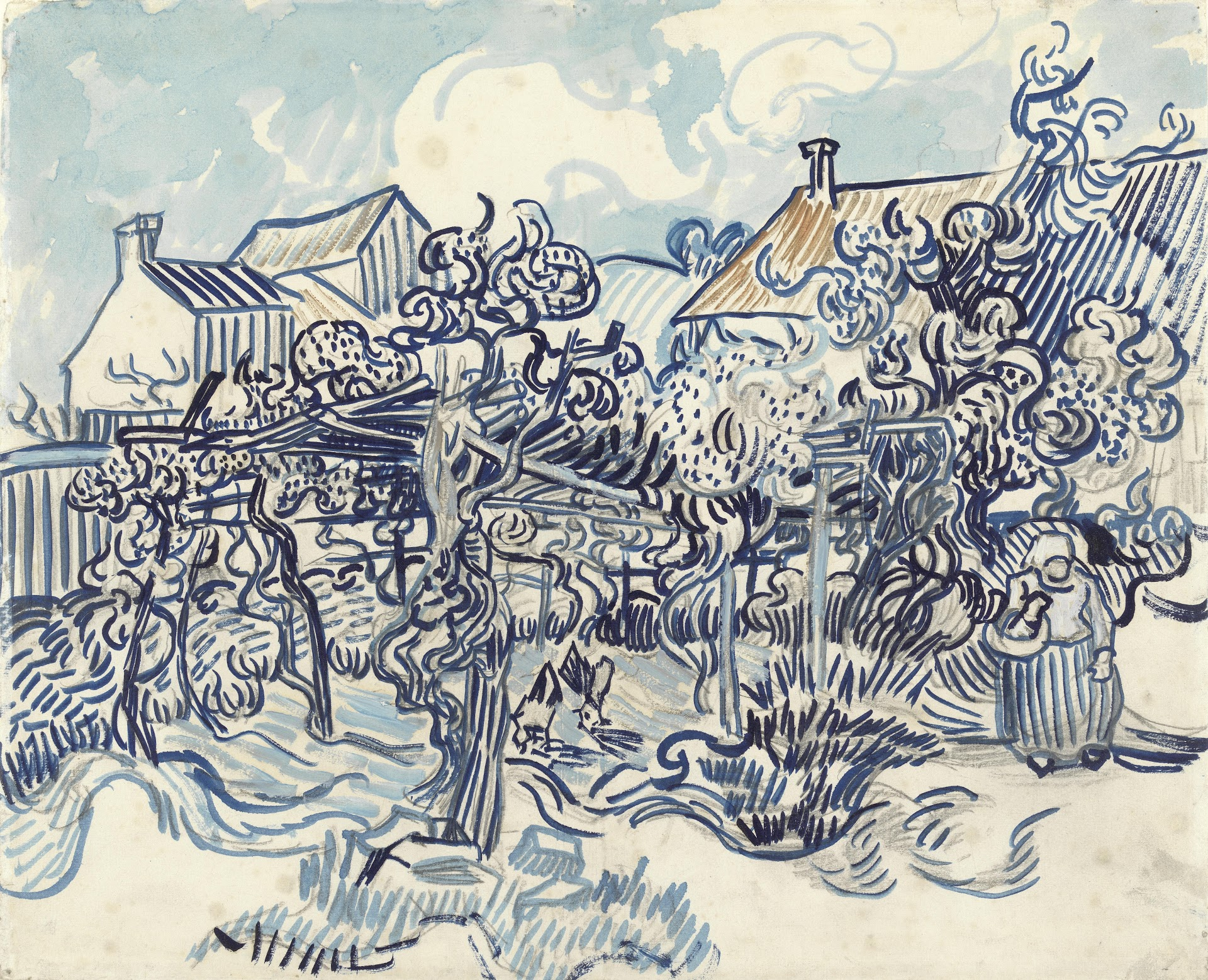 1 000 Paintings Drawings By Vincent Van Gogh Available To Download For Free Artfido