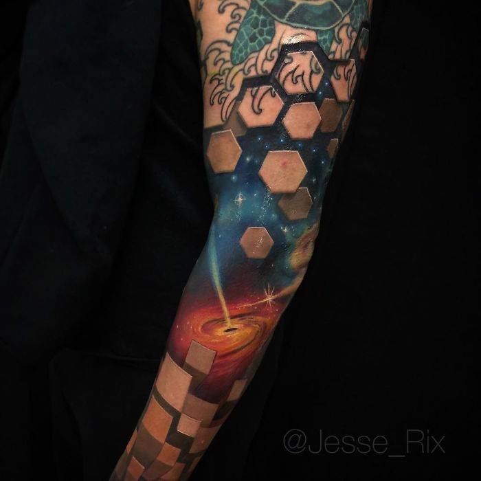 Tattoo Artist Creates Amazing 3D Tattoos That Will Make