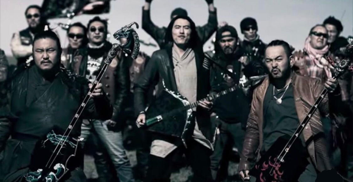 Mongolian Band Plays Heavy Metal with Traditional Folk