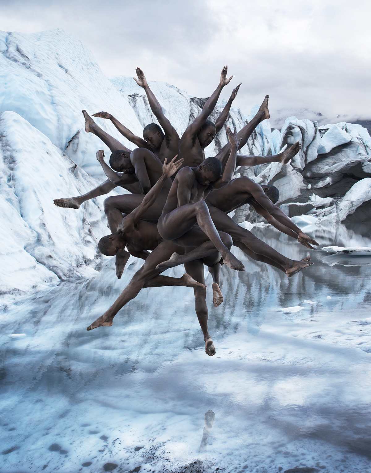 Stunning Poses By Dancers in Surreal Gravity-Defying Photos